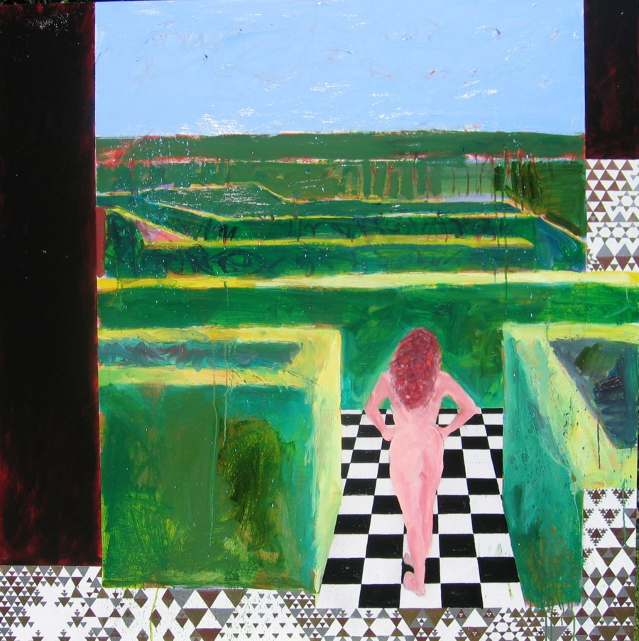stephen linsteadt, alice in a hedge maze